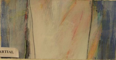 Three Framed Modern Works on Paper.
