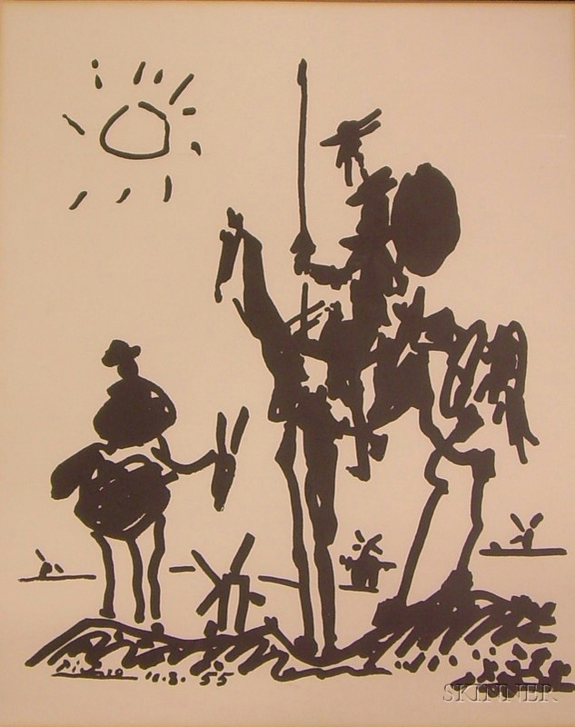 Two Peace Corps. Prints After Pablo Picasso (Spanish, 1881-1973)