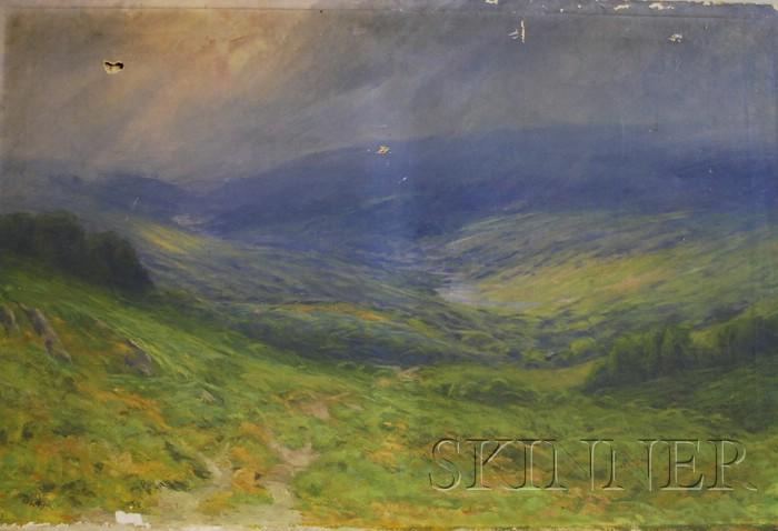 Henry Hammond Gallison  (American, 1850-1910)      Summer Showers