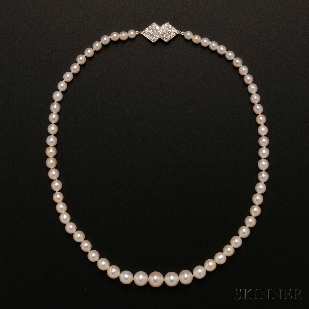 Natural Pearl Necklace, Chaumet