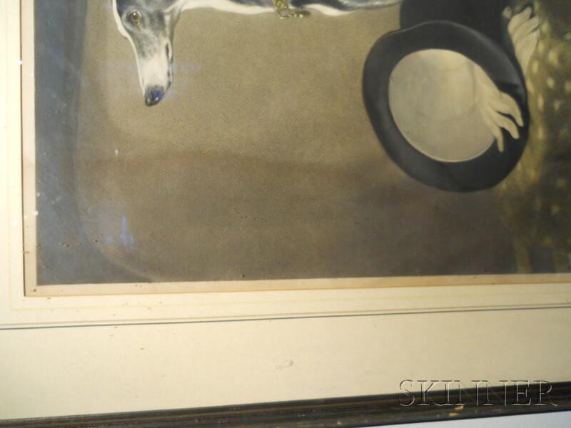 Thomas Landseer (British, 1795-1880), After Edwin Landseer, R.A., (British, 1802-1873) Eos, A Favorite Greyhound of Prince Albert, Insc