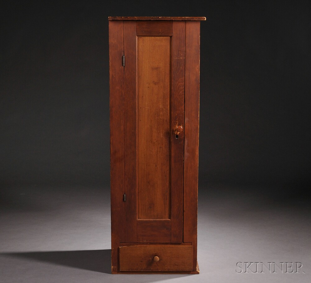 Shaker Single-door Cupboard with Drawer