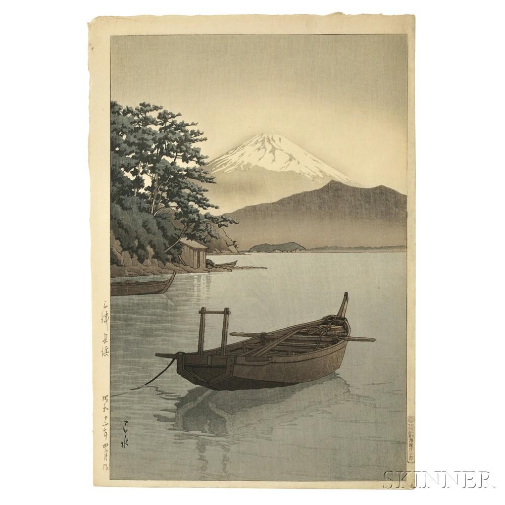 Kawase Hasui (1883-1957), Nagahama Beach, Mito