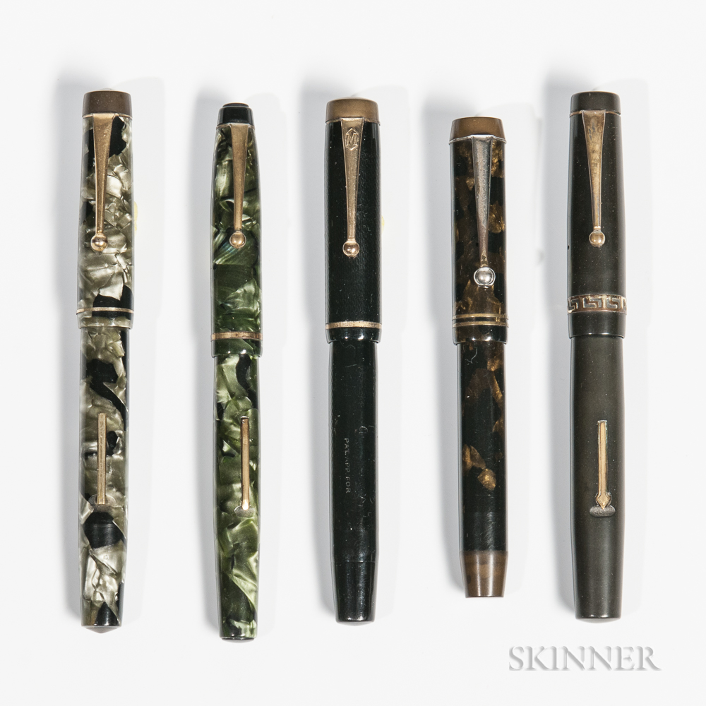 Summit and Four Other English Fountain Pens