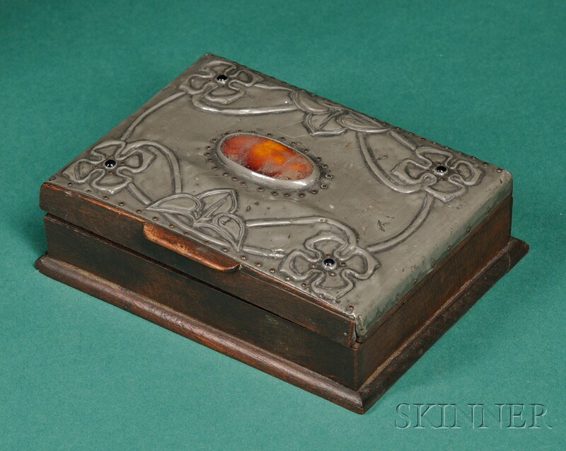 Arts & Crafts Movement Covered Box