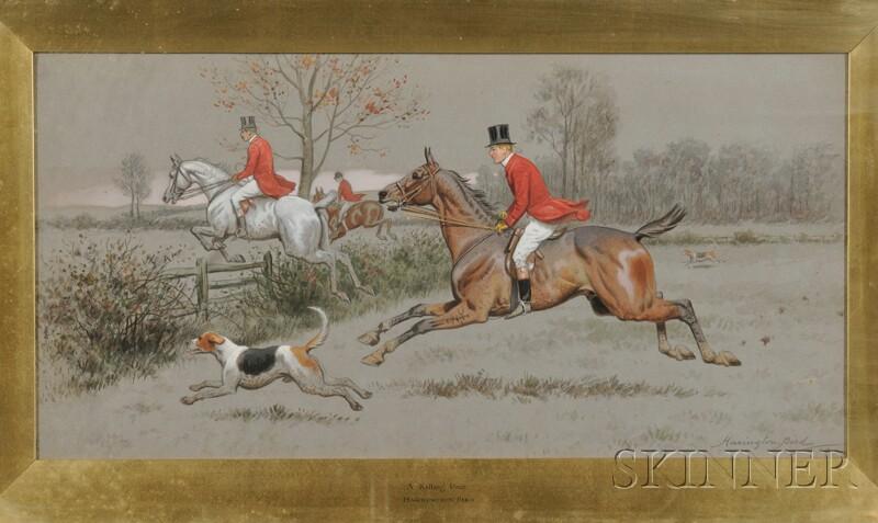 Harrington Bird (British, 1846-1936)      A Killing Pace