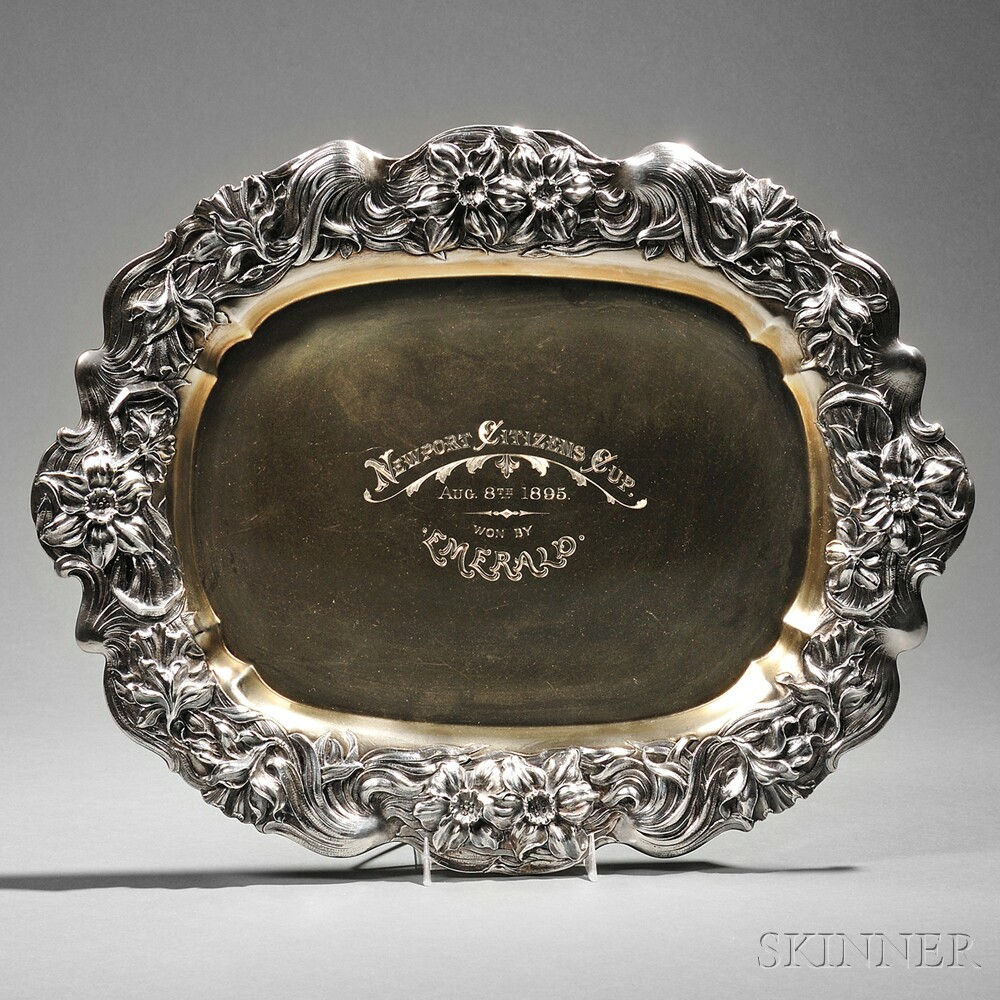 George Shiebler & Co. Sterling Silver Trophy Tray