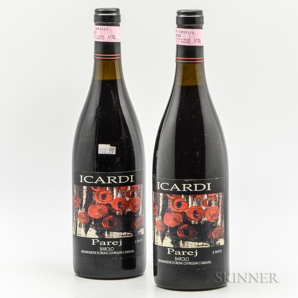 Icardi Parej Barolo 1995, 2 bottles
