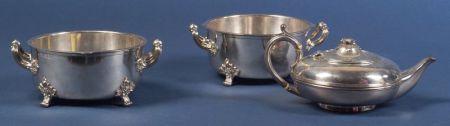 Three Matthew Boulton Silver Plate Tablewares