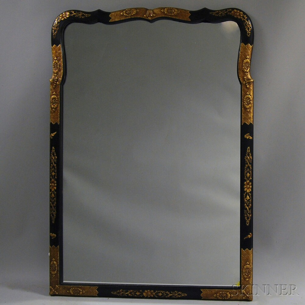 Japonesque Framed Mirror