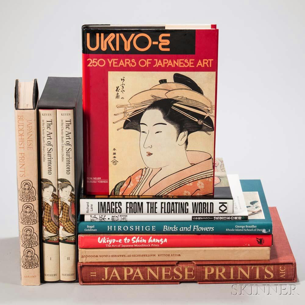 Nine Books on Japanese Prints