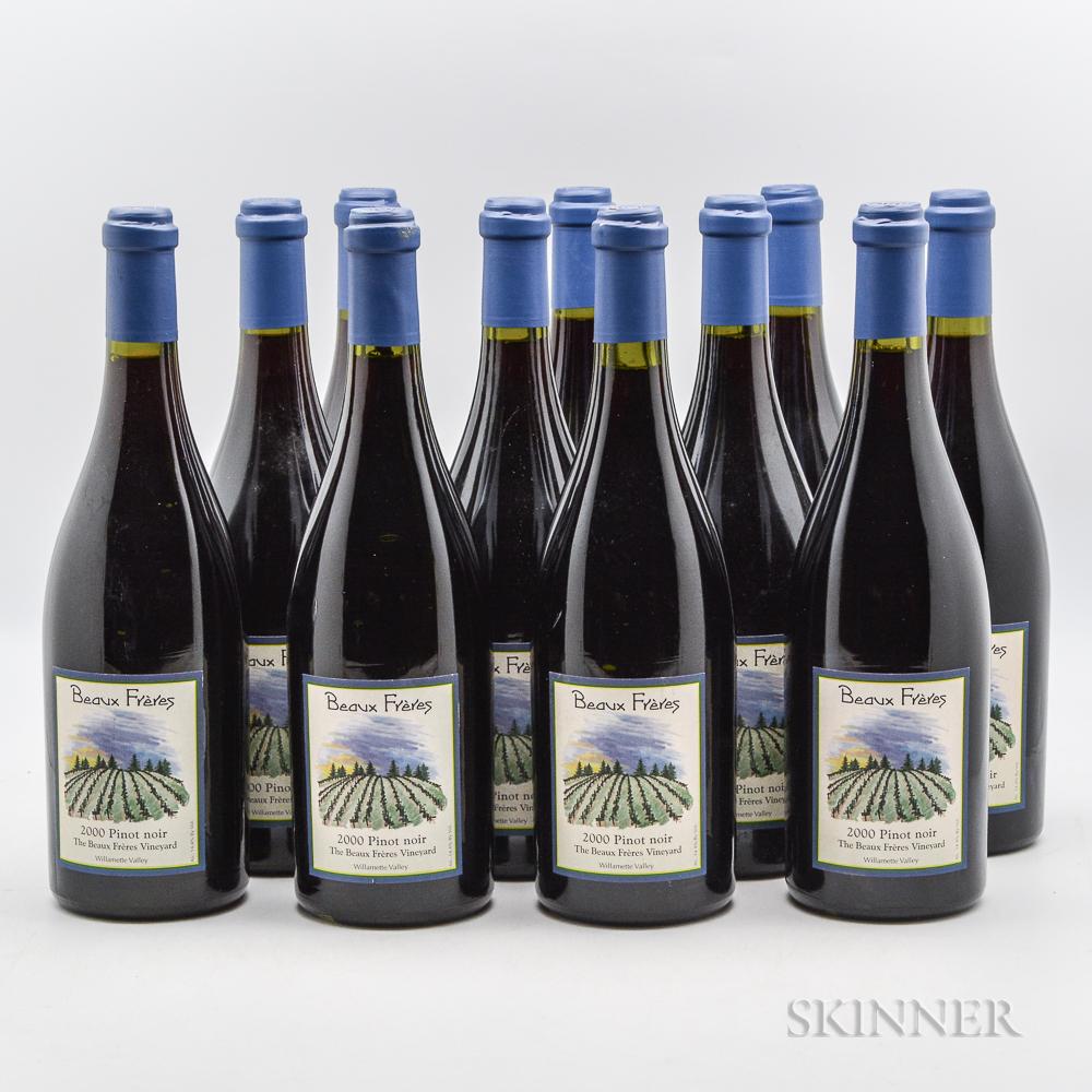 Beaux Freres Beaux Freres Vineyard Pinot Noir 2000, 11 bottles