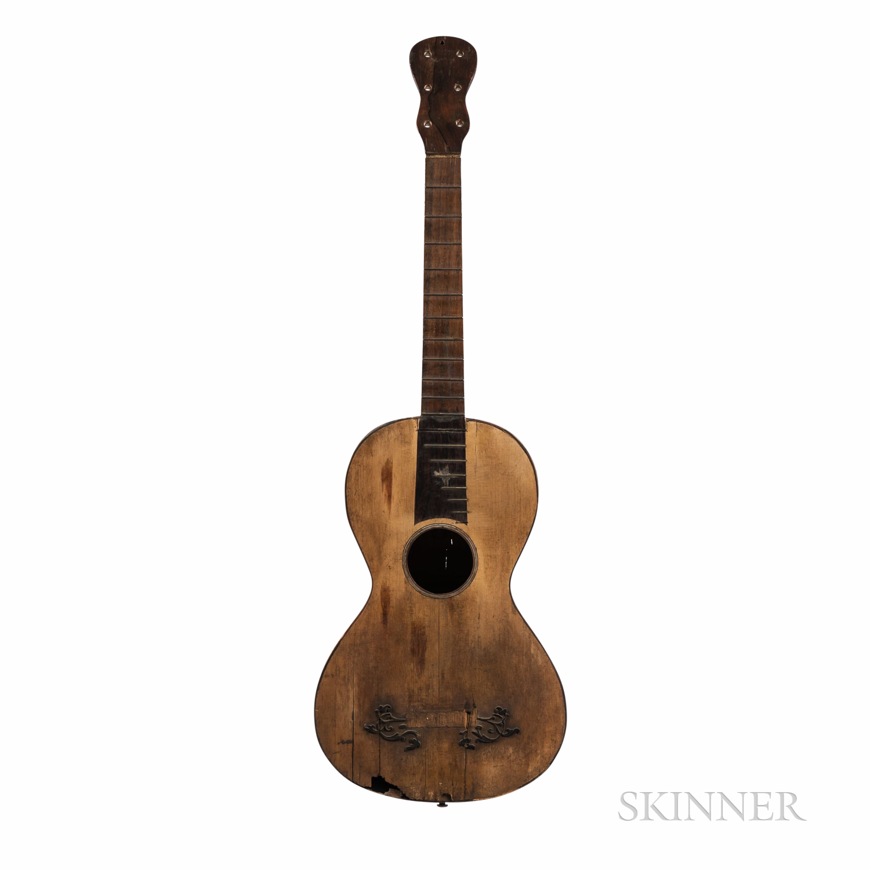 Romantic Guitar, Gennaro Fabricatore, Naples, 1811