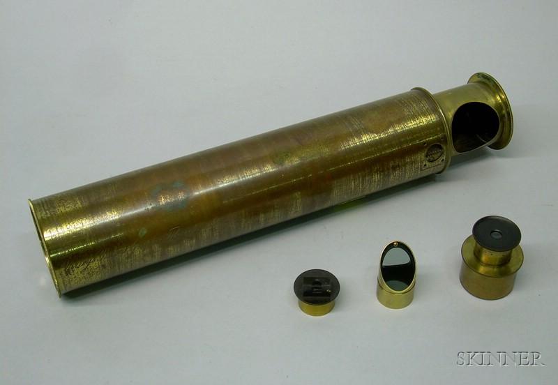 Brass 2-inch Varley's Patent Graphic Telescope