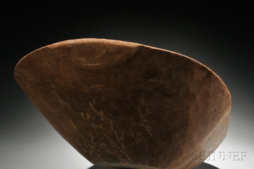 Shaker Oblong Maple Dough Bowl