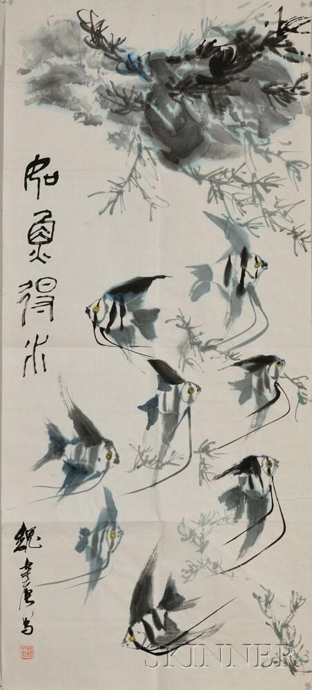 John Way, Painting Depicting Fish