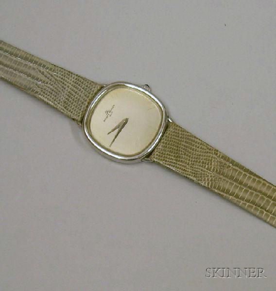 Baume and Mercier Stainless Steel 17-Jewel Man's Wristwatch