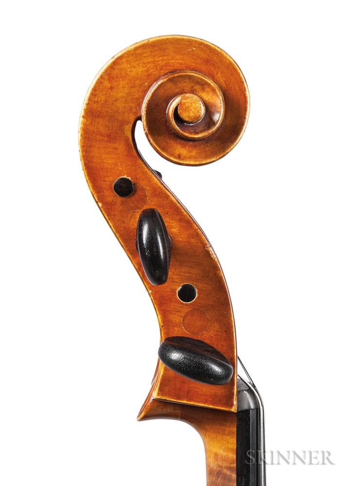 Italian Violoncello, Ascribed to Giuseppe Pedrazzini