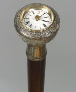 French Bezel Movement Watch Cane