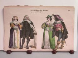 Eight German Costume Fashion Plates
