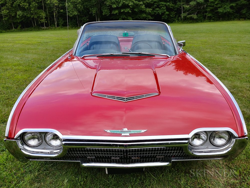 1963 Ford Thunderbird Convertible
