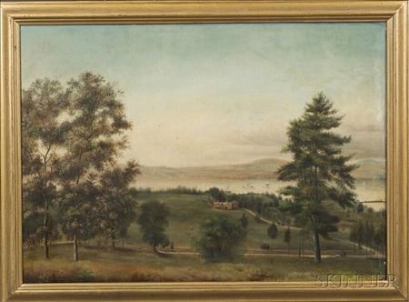 American School, 19th Century    Dinsmore Place Staatsburg-on-Hudson New York.