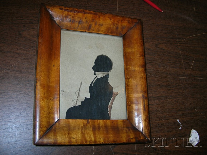 Assembled Collection of American and English Silhouette Portraits