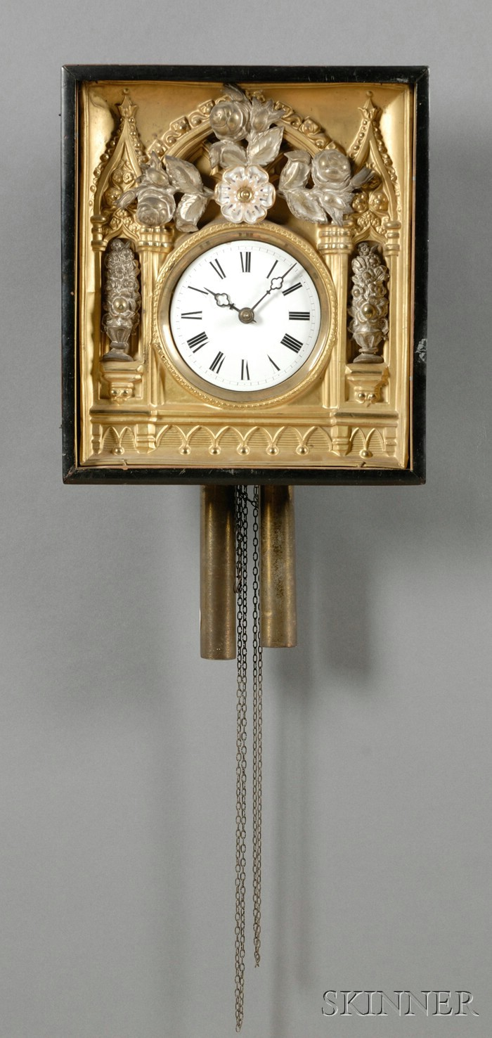 French Wag-on-Wall Clock