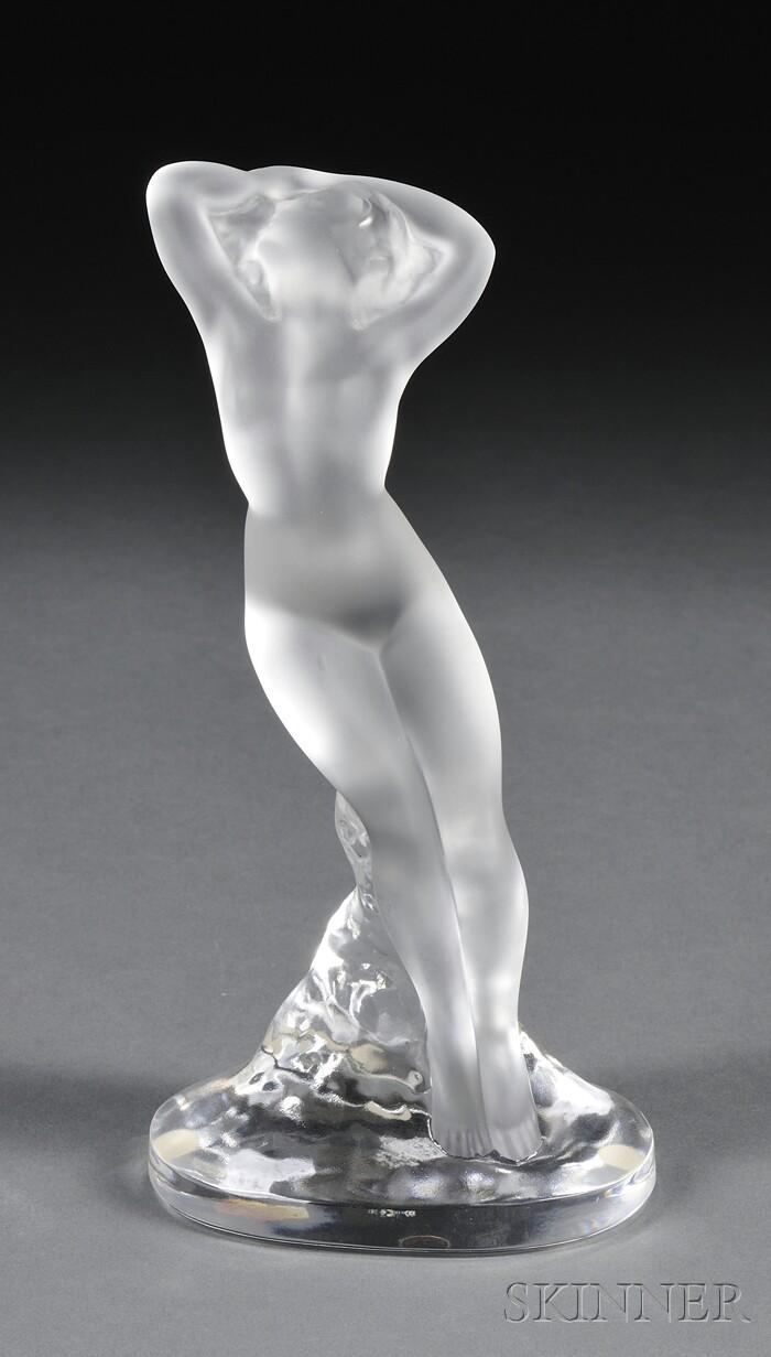 Lalique Nude Figure