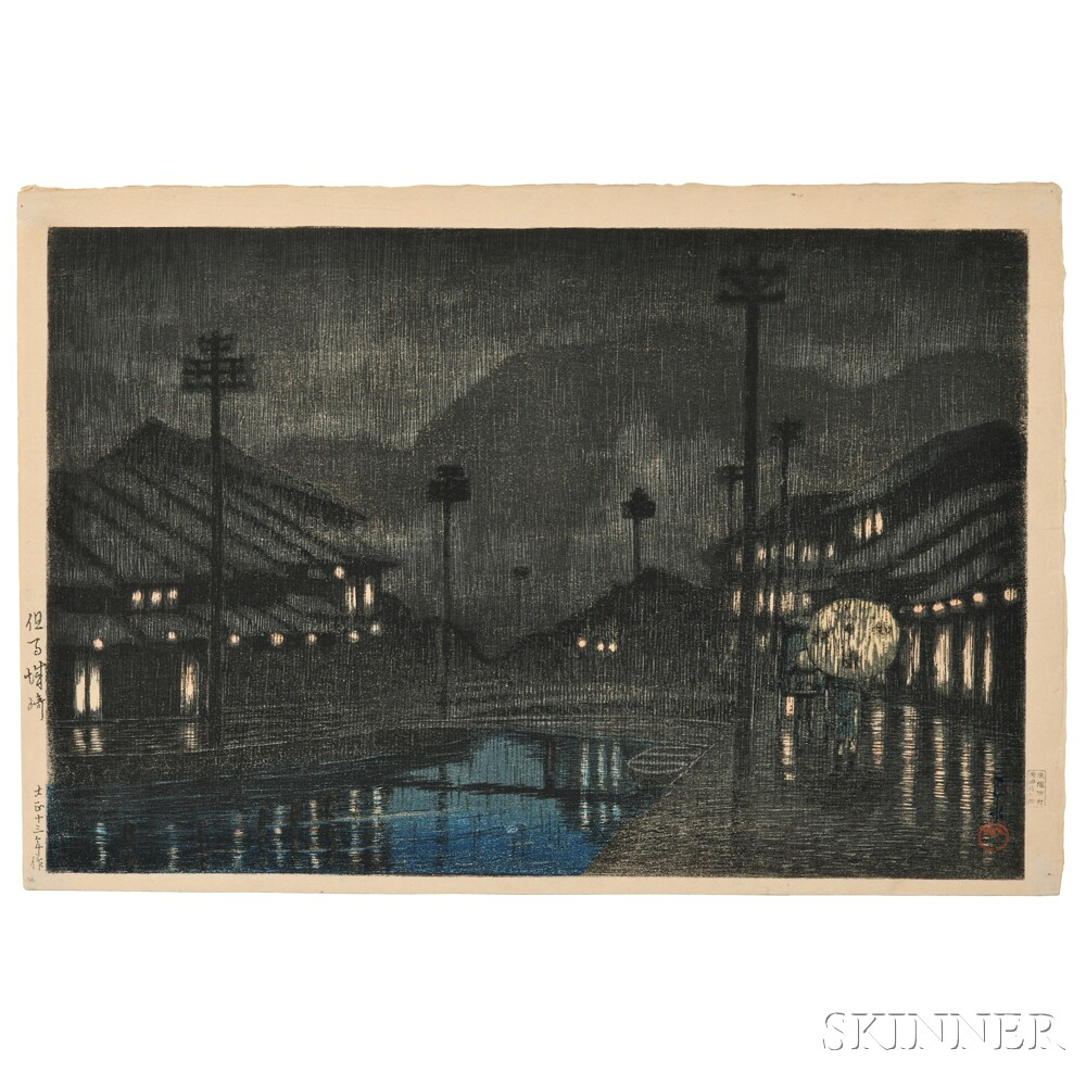 Kawase Hasui (1883-1957), Kinosaki, Tajima