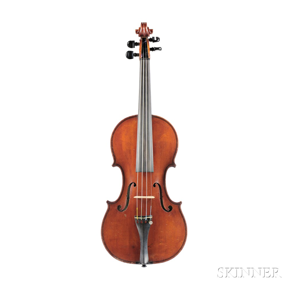 Modern Italian Violin, Camillo Mandelli, Milan, c. 1930