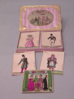 """""""Le Diable a Quatre"""" Boxed Card Set"""