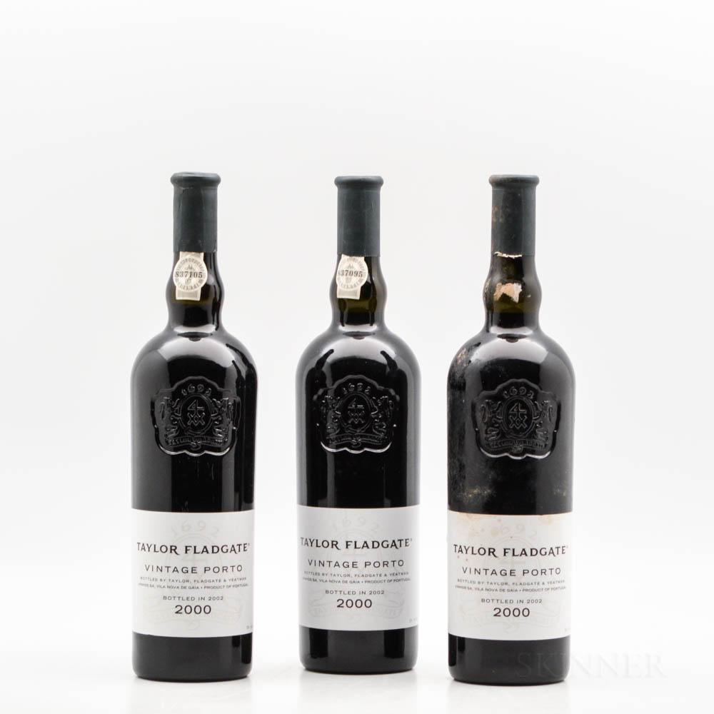 Taylor 2000, 3 bottles