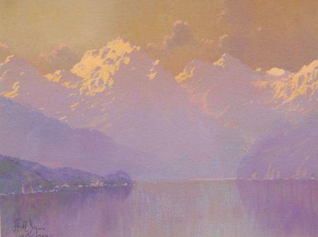 Hezekiah A. Dyer (American, 1872-1943)    Lake Como