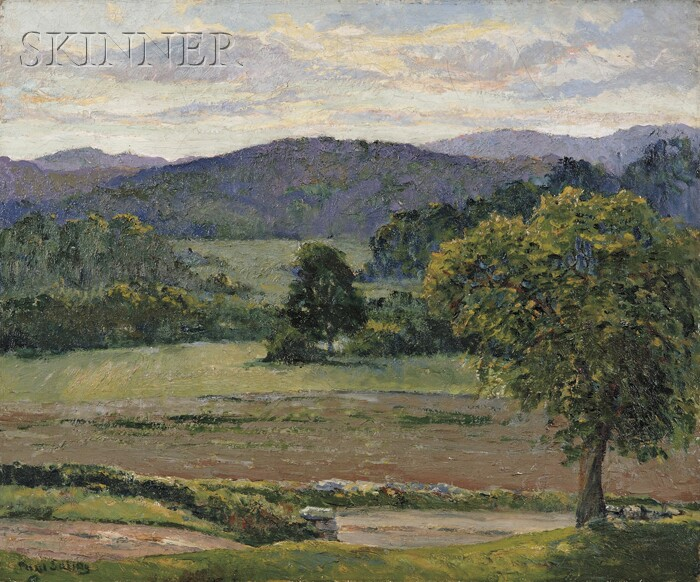 Paul E. Saling (American, 1876-1936)      Late Afternoon, Lyme, Connecticut