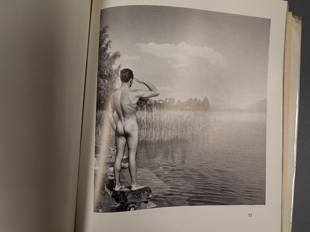 Der Mann in Photographie.