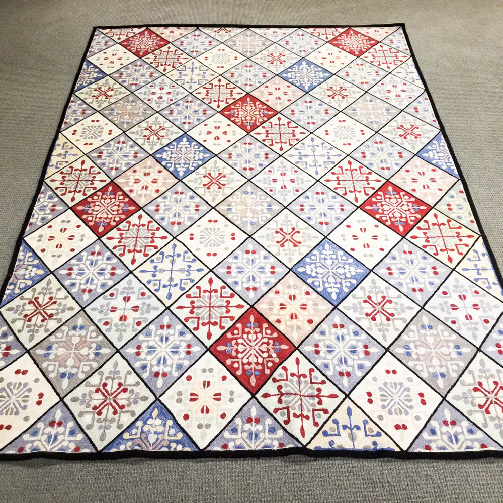 Handmade Hooked Carpet
