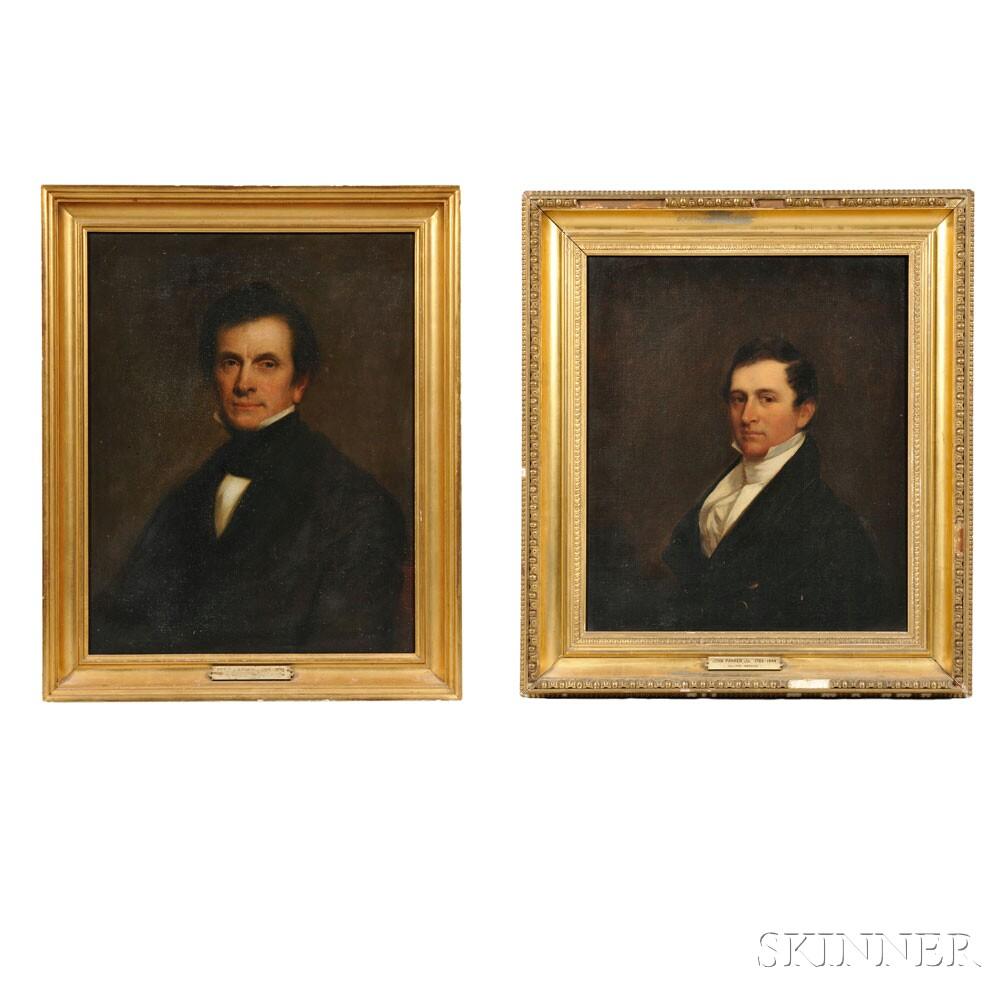 Two Portraits: John Parker and Peter Parker