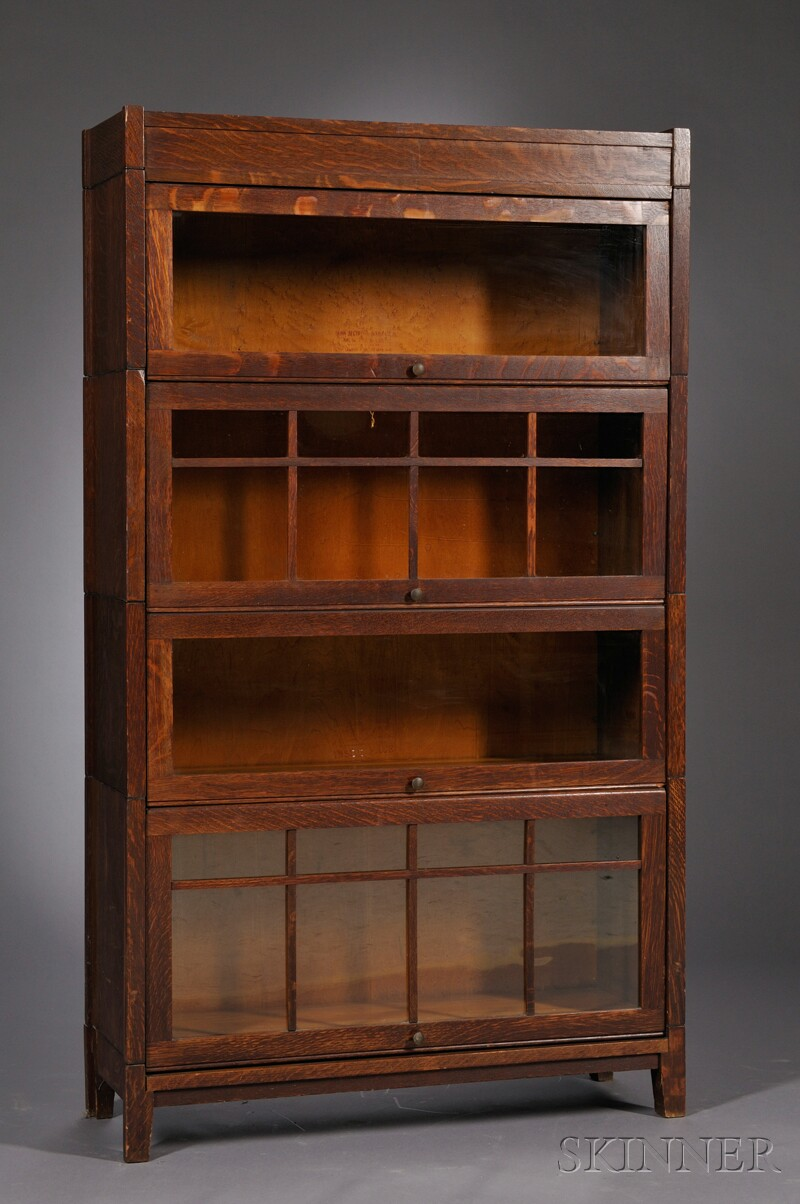 Arts & Crafts Stacking Bookcase