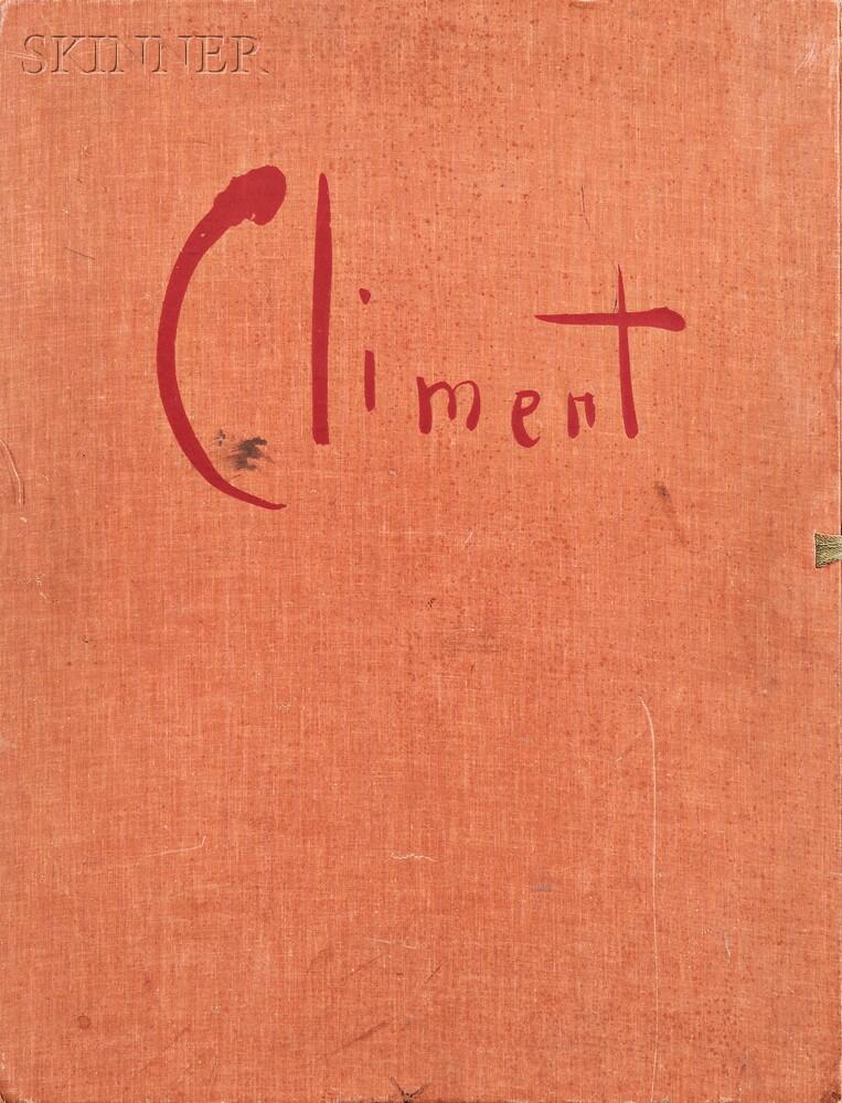 Enrique Climent (Spanish, d. 1980)      Portfolio 10 GRABADOS EN LINOLEO