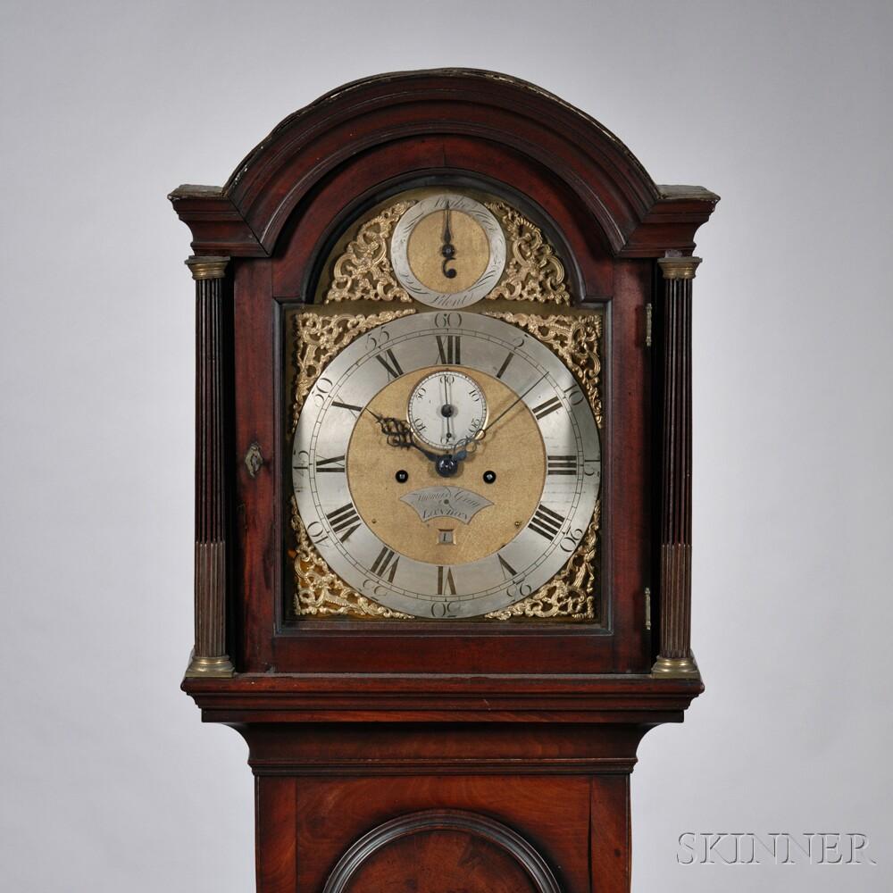 Thomas Gray Mahogany Longcase Clock