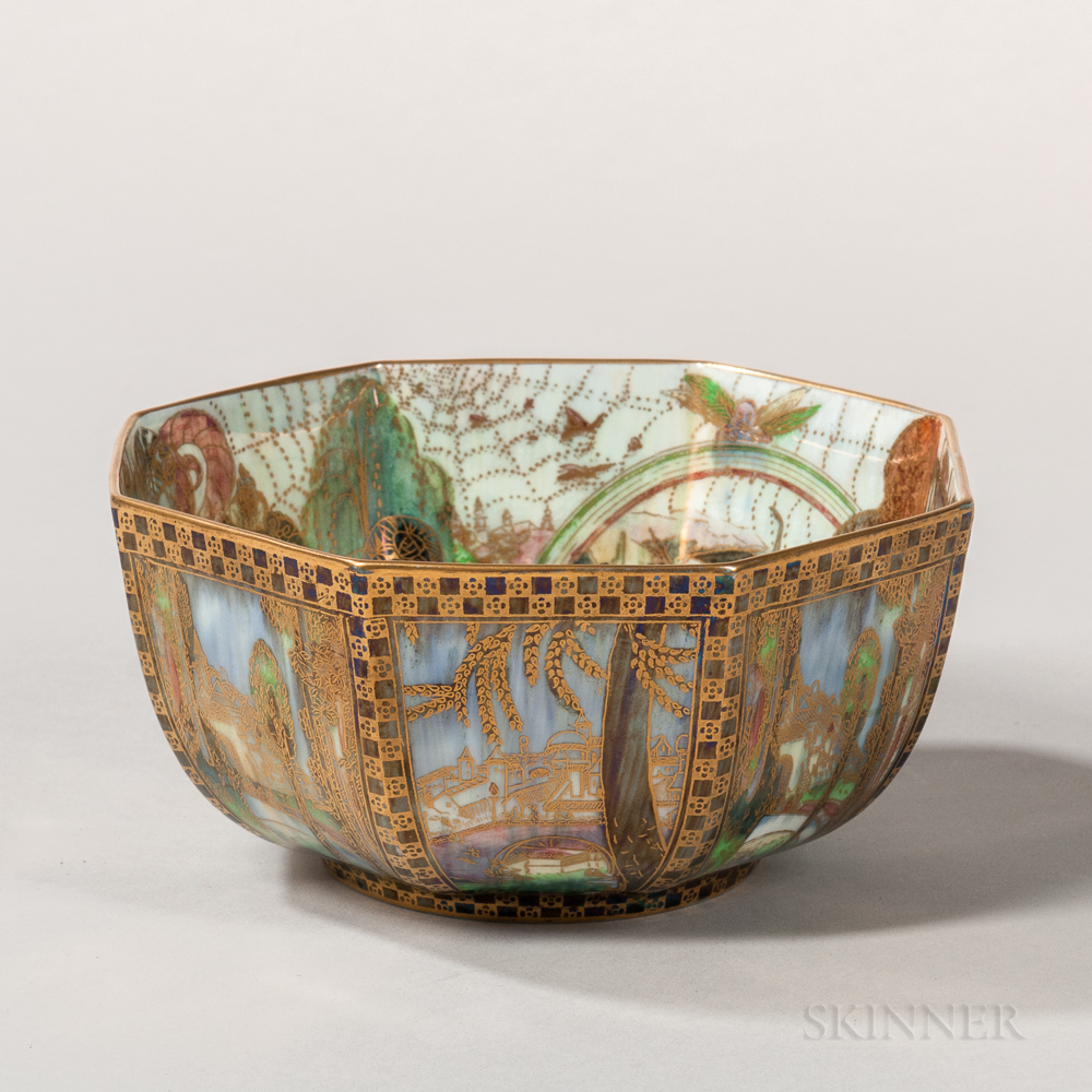 Wedgwood Fairyland Lustre Octagonal Bowl