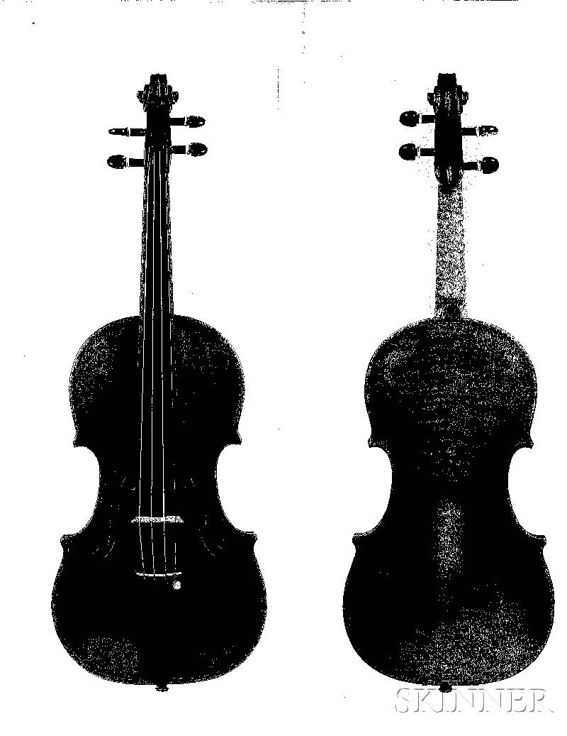 Italian Violin, Jago Peternella, San Diego, 1956