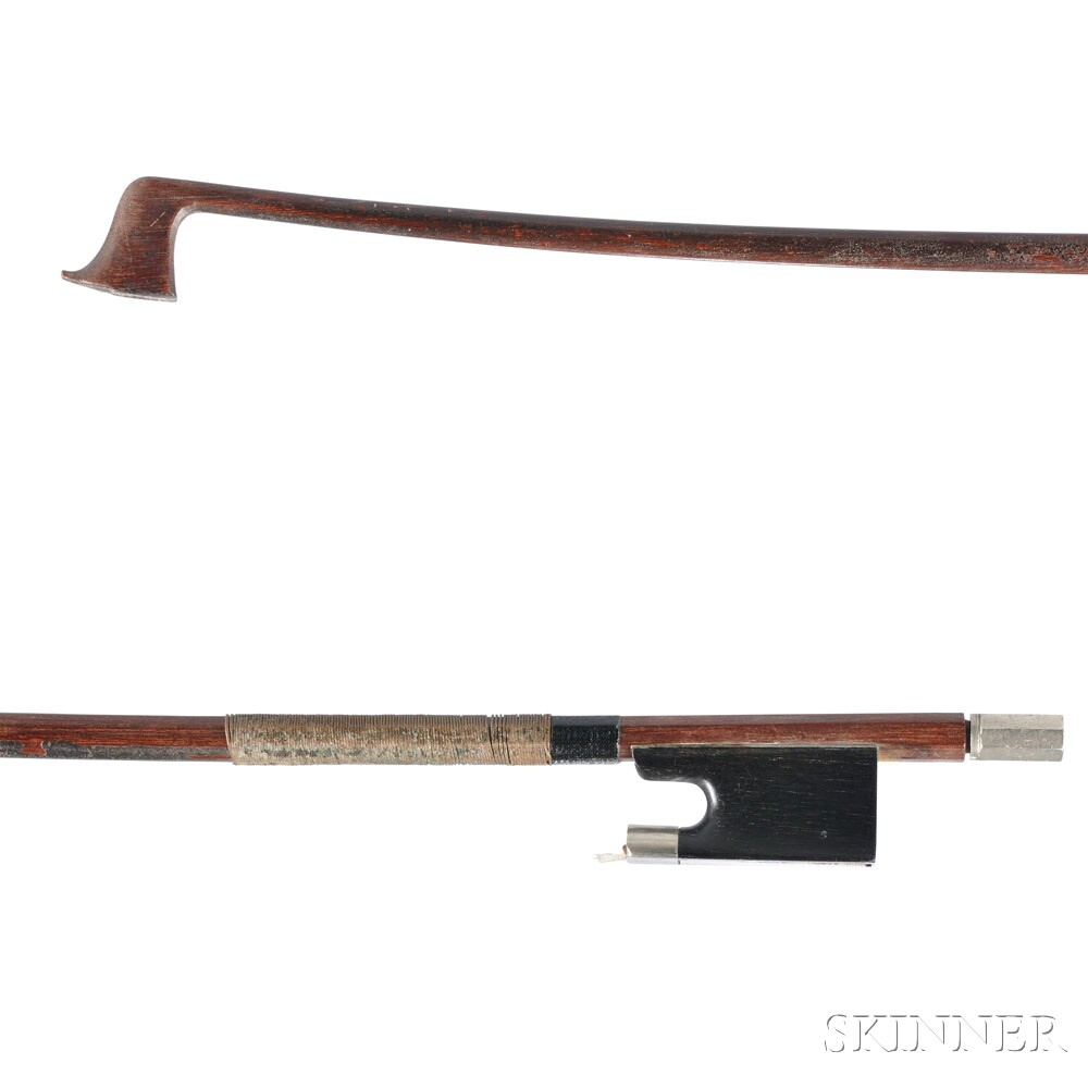 Nickel-mounted One-half Size Violin Bow