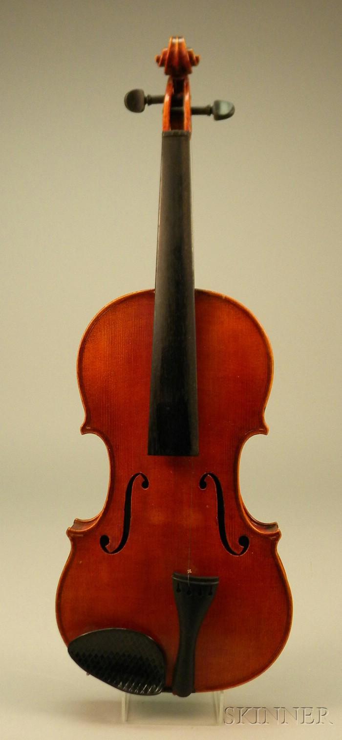 Modern Violin Sale Number 2537m Lot Number 909