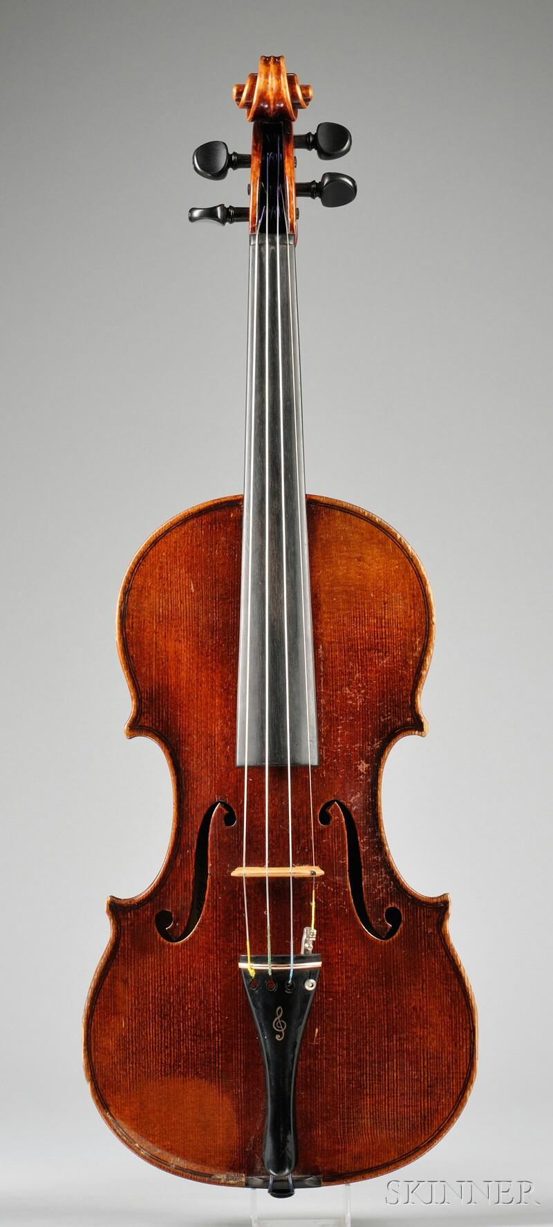 Markneukirchen Violin, Paul Knorr, 1925