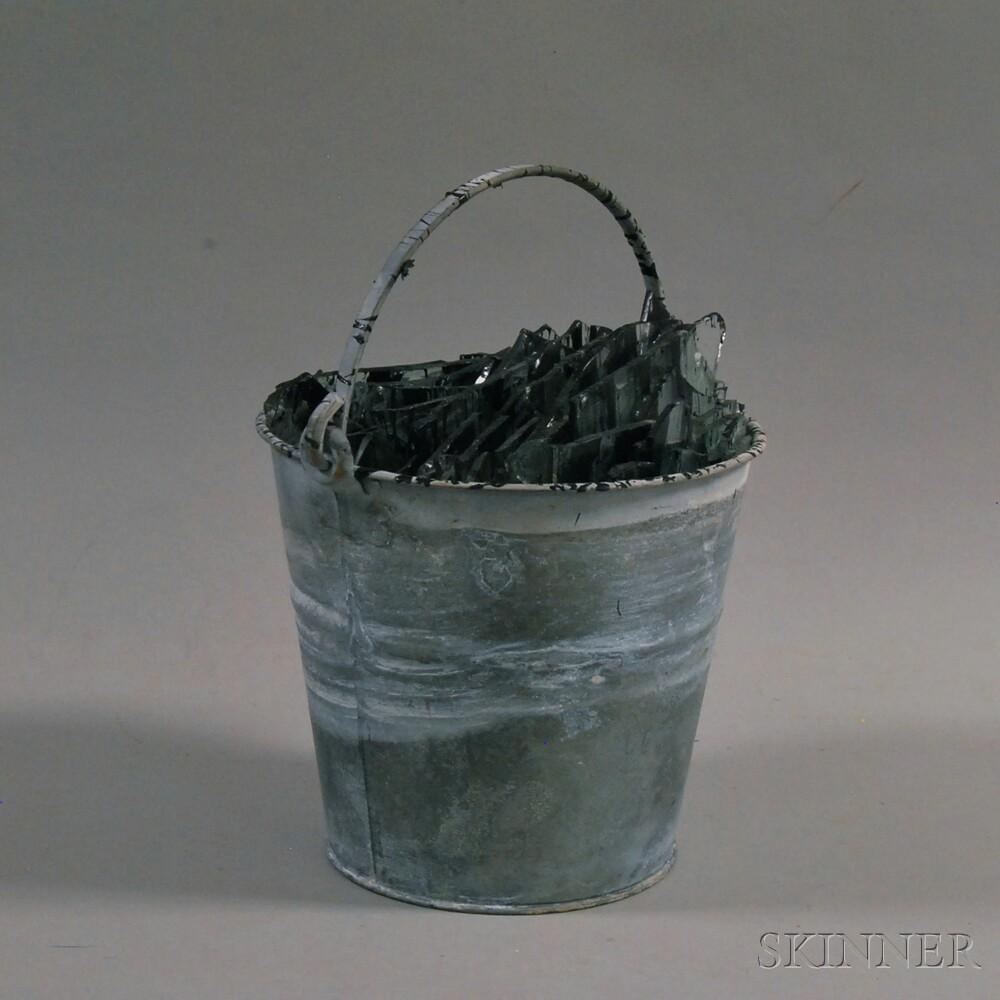 Donald Lipski (American, b. 1947)      Bucket of Glass