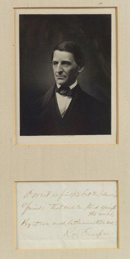 Emerson, Ralph Waldo (1803-1882)