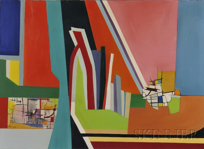 American School, 20th Century      Abstract Composition