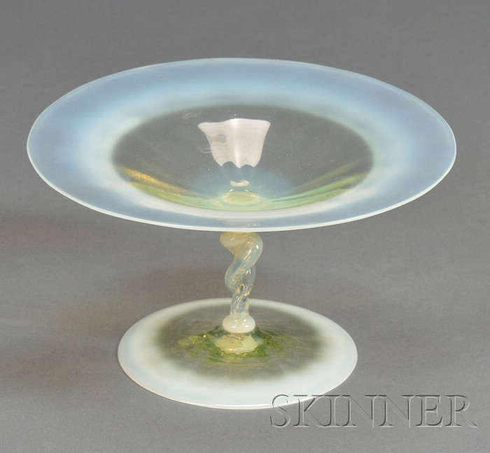 Tiffany Opalescent Compote